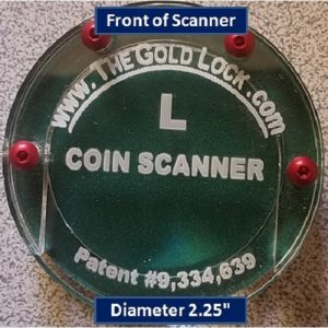 Large Gold and Silver Coin Scanner