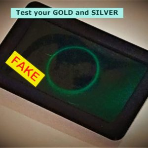 Slim Gold & Silver Tester